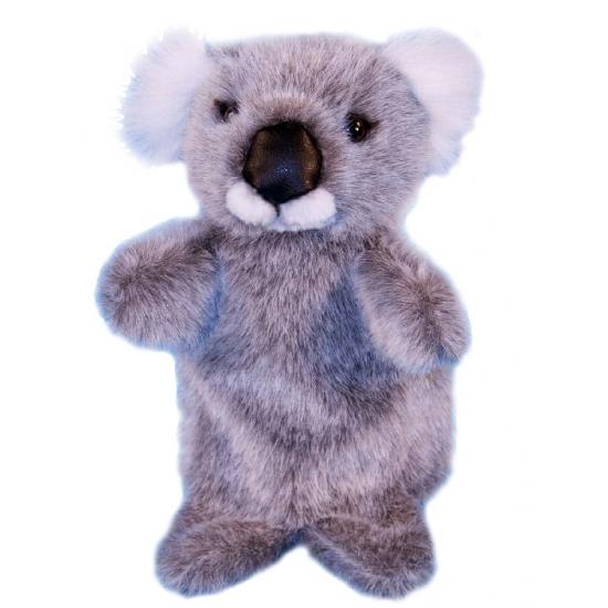 Poppen theater koalatje 28 cm