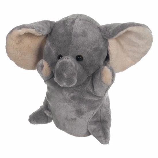 Poppen theater olifant 24 cm