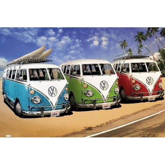 Woonaccessoires Volkswagen Posters van Volkswagen Camper
