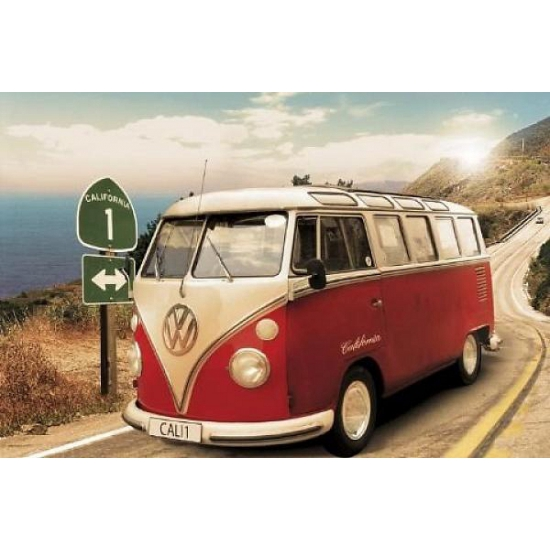 Posters van Volkswagen Camper Volkswagen goedkoop online kopen
