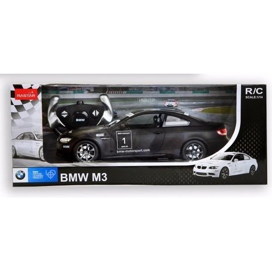 Speelgoedvoertuigen Radiografisch bestuurbare zwarte BMW M3 auto 1 14