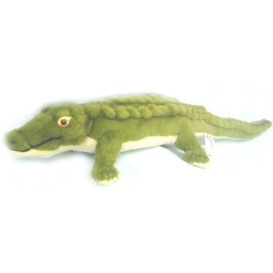 Realistische knuffel krokodil 58 cm