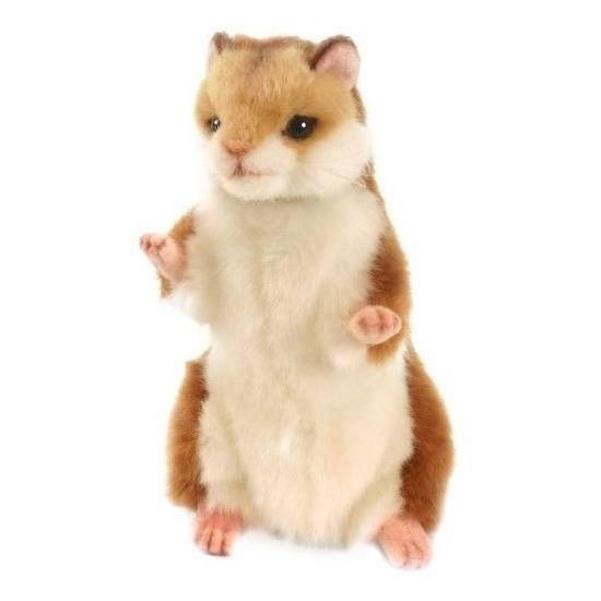 Realistische pluche hamster 15 cm