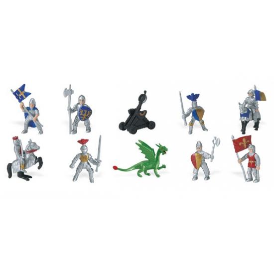 Ridders en draken van plastic Geen Speelgoed diversen
