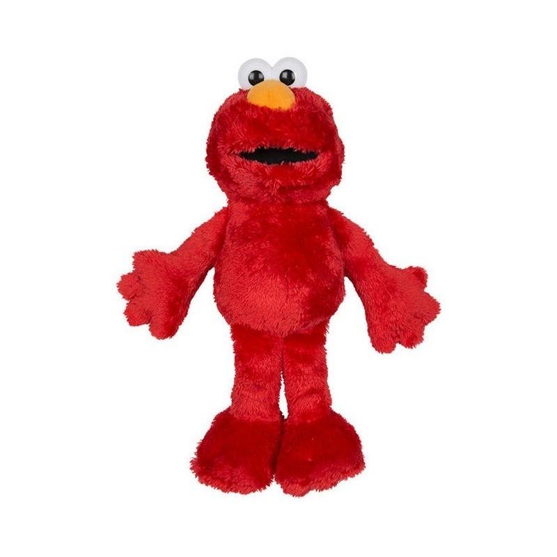 Rode grote pluche Elmo Sesamstraat knuffel/pop 100 cm