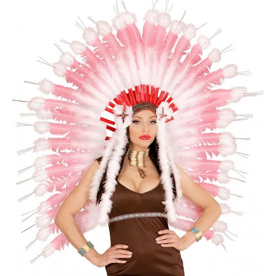Roze indianentooi voor dames