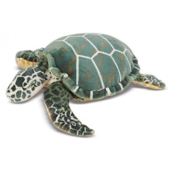 Schildpad knuffel groot formaat 81 cm