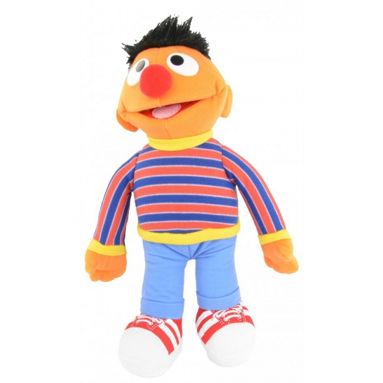 Sesamstraats Ernie pluche knuffel 30 cm