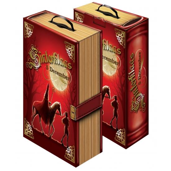 Sinterklaas versiering boek van karton