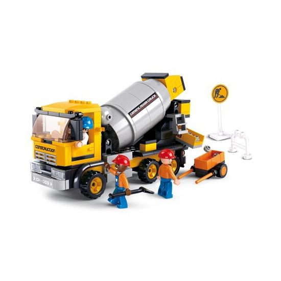 Educatief speelgoed Sluban Sluban bouwpakket Betonmolen 33 x 23,7 cm