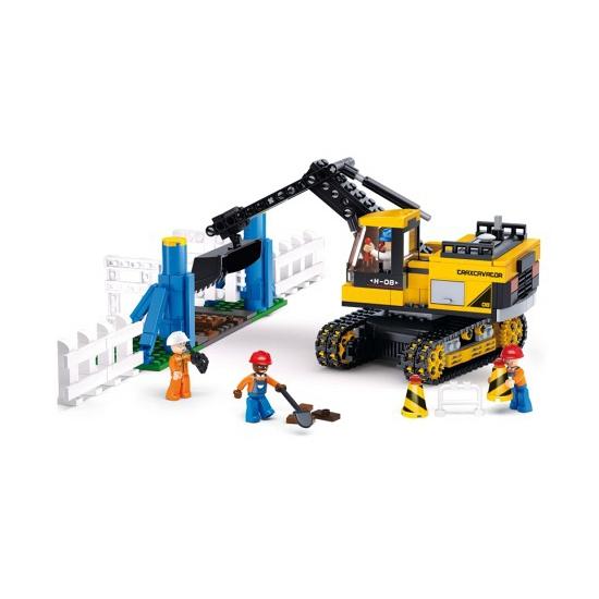 €2040000 Korting Sluban Sluban bouwpakket grote Graafmachine 42,5 x 28,5 cm