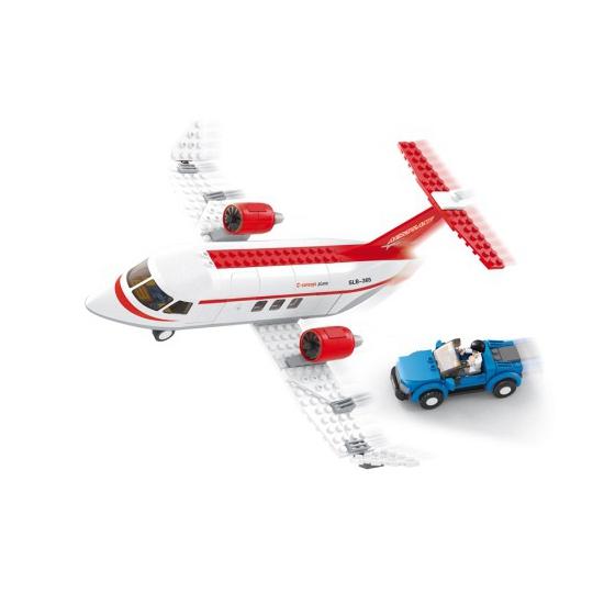 Sluban speelgoed privevliegtuig Sluban