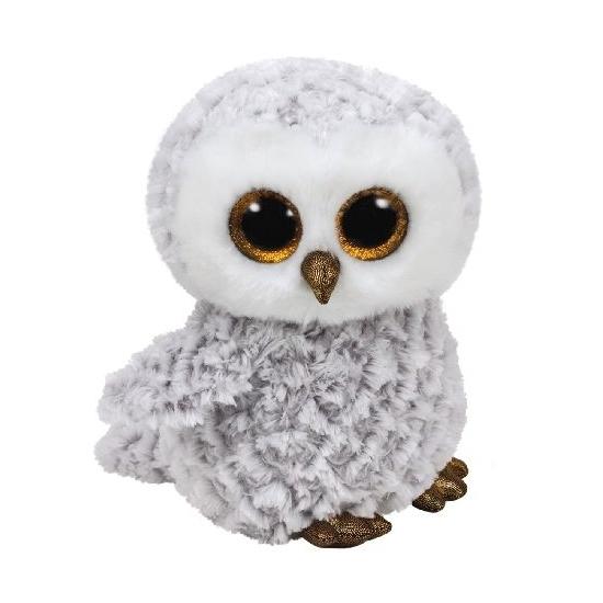 Sneeuwuil Ty Beanie knuffel owlette 24 cm