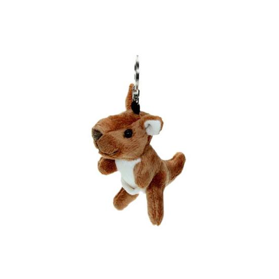 Speel kangoeroe sleutelhanger 15 cm