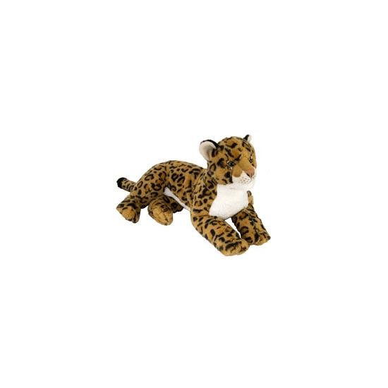 Speelgoed knuffel luipaard 40 cm