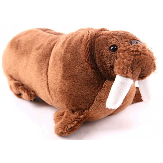 Speelgoed knuffel walrus 21 cm