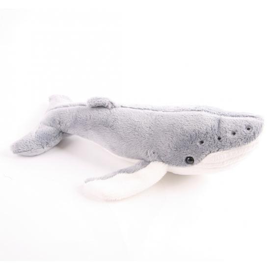 Speelgoed knuffel walvis 24 cm