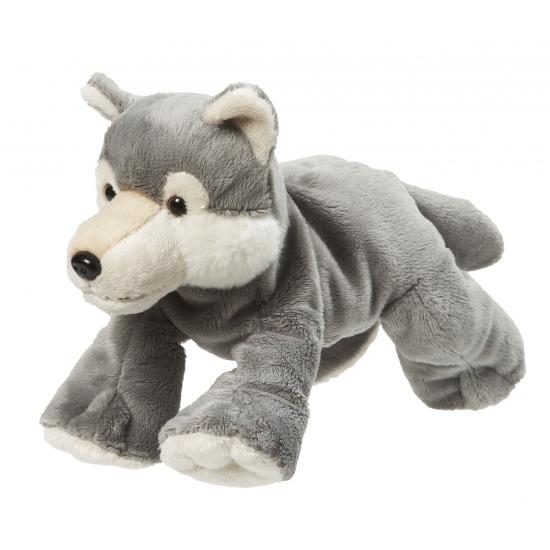 Speelgoed pluche wolfje 22 cm