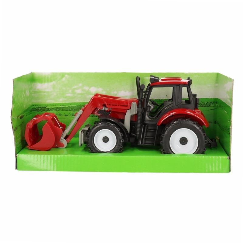 Geen Speelgoed tractor rood Speelgoedvoertuigen