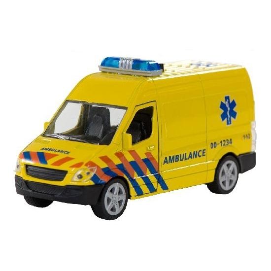Speelgoedauto ambulance met sirene