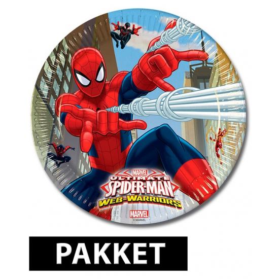 Spiderman Kinderfeestje Pakket