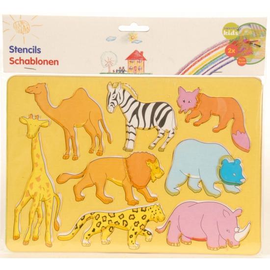 Tekensjablonen dieren Geen Creatief speelgoed