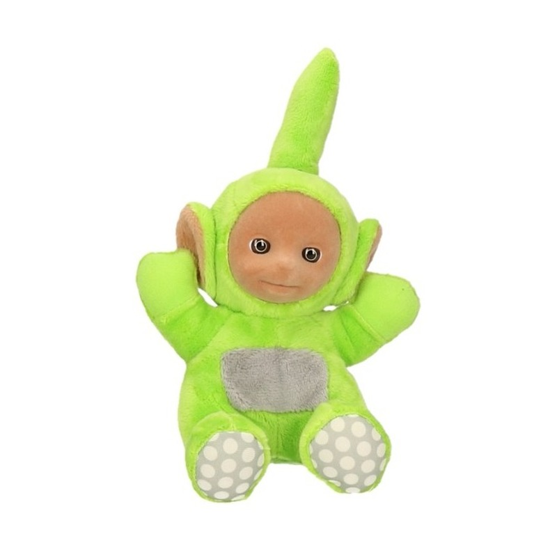 Teletubbies pluche Dipsy speelgoed knuffel 18 cm
