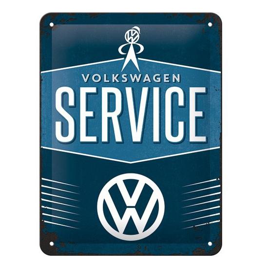 Tinnen plaatje VW 15 x 20 cm Geen gaafste producten