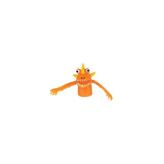 Vingerpoppen beestjes oranje
