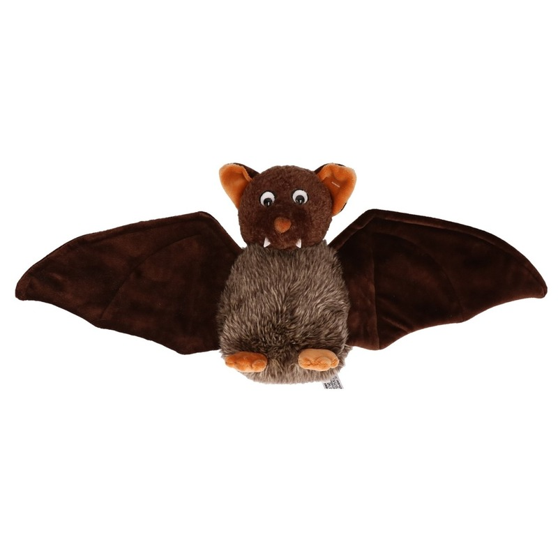 Vleermuis knuffel 18 cm
