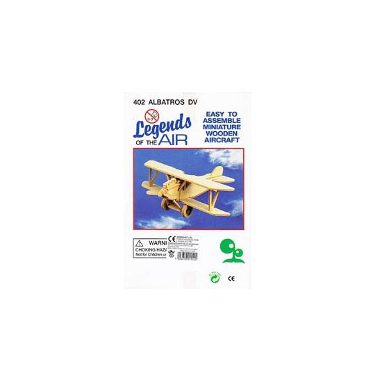 Educatief speelgoed Vliegtuig bouwpakket Albatros 402