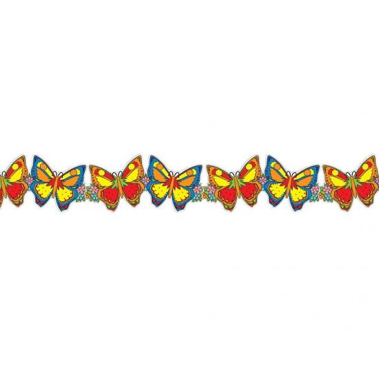 Vlinders decoratie slinger