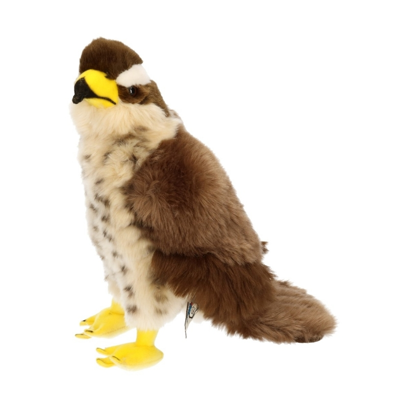 Vogel knuffels Havik 23 cm