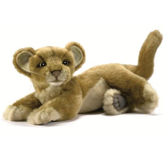 Welpen knuffel leeuw 26 cm