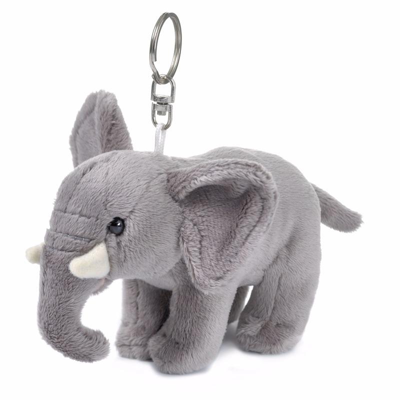 Wereld Natuur Fonds olifant knuffelsleutelhanger