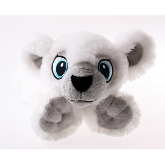 Witte beren knuffel 30 cm
