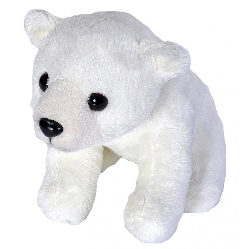 Witte ijsbeer knuffel pluche 15 cm