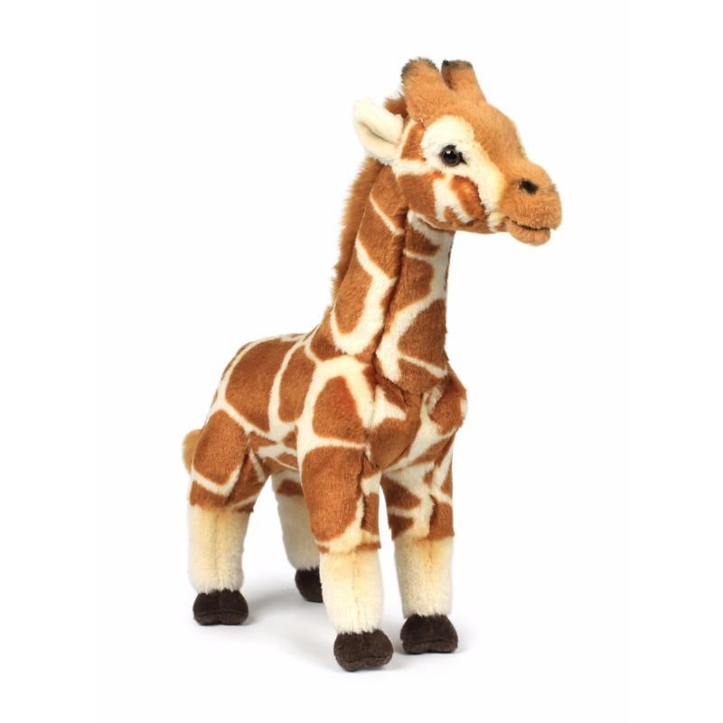 WNF bruine giraffe knuffels 31 cm
