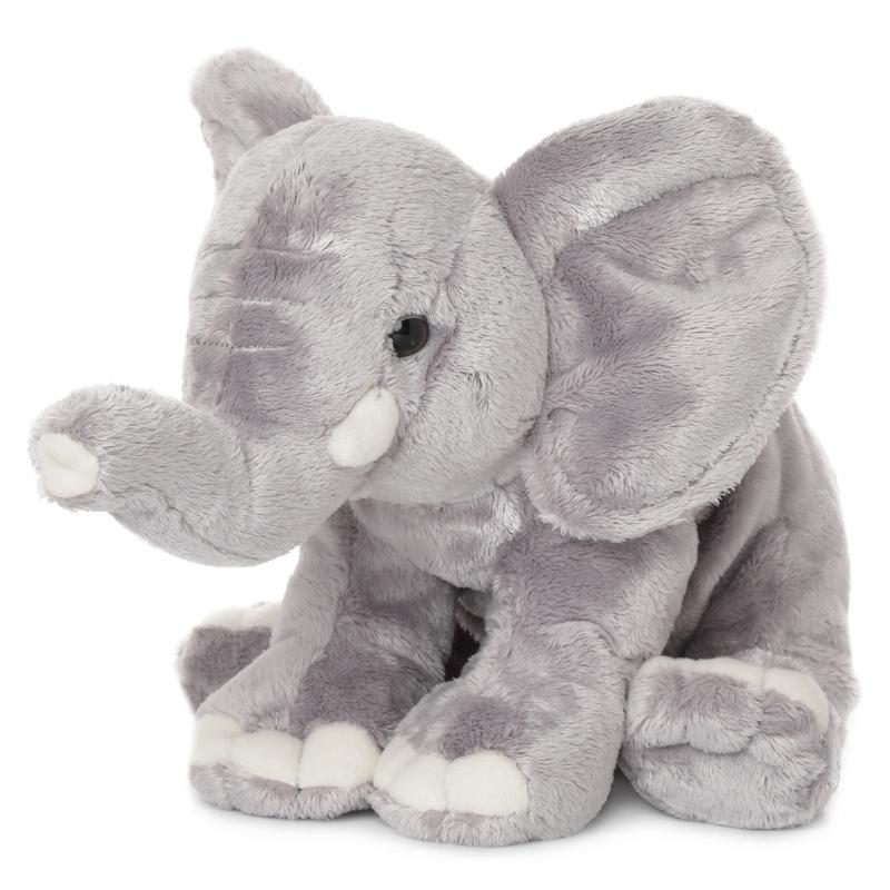 WNF knuffel olifant met slurf in de lucht 25 cm