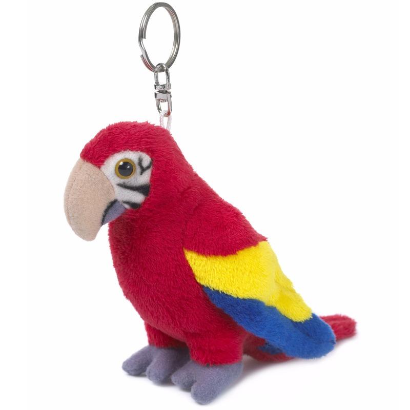 WNF pluche sleutelhangers papegaai