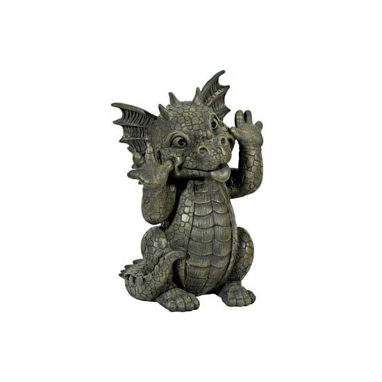 Woondecoratie draken beelden 26 cm
