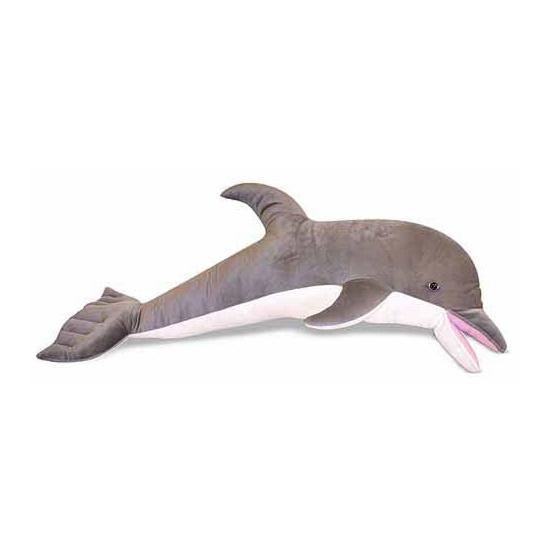 XXL dolfijnen knuffels 104 cm