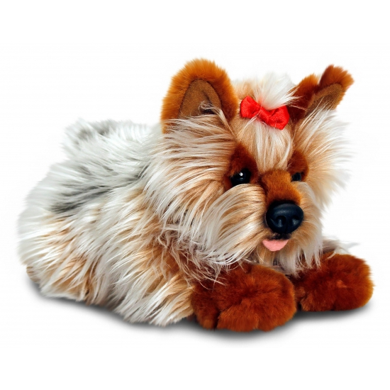Yorkie knuffel puppy 35 cm