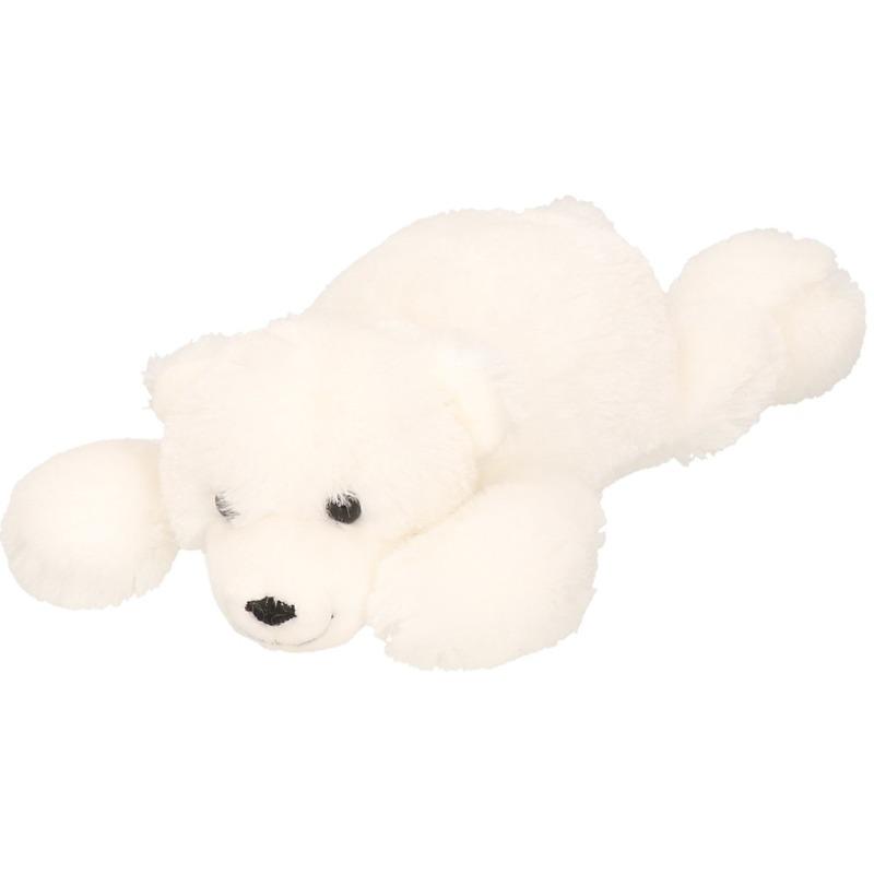 Zachte ijsberen knuffel 26 cm