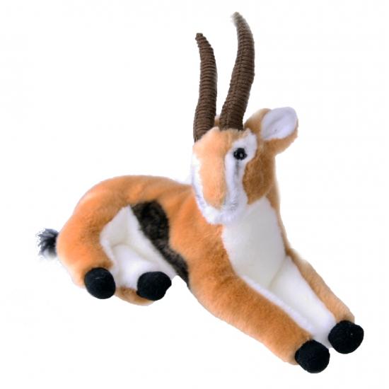 Zankleurige gazelle knuffel 30 cm
