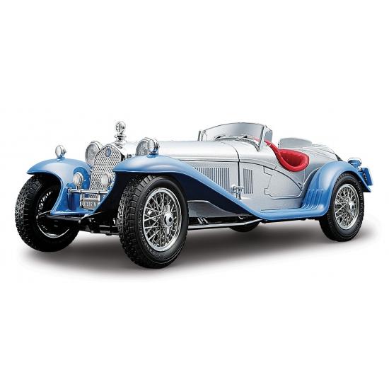 Zilveren Alfa Romeo 8C 2300 Spider 22 cm Bburago Beste koop