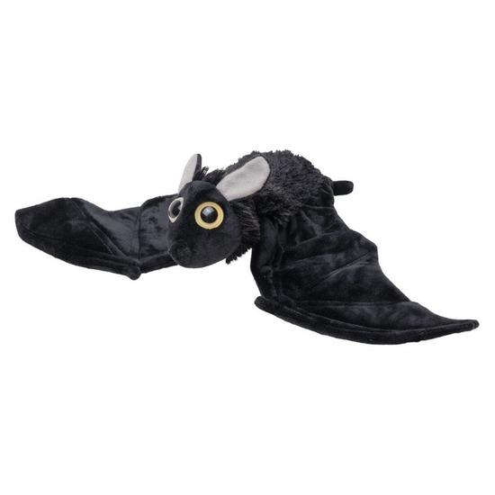 Zwarte pluche vleermuis knuffel 55 cm