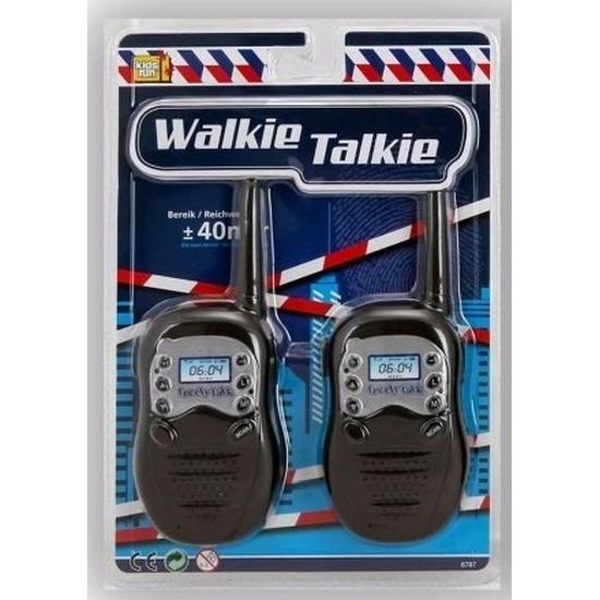 Speelgoed diversen Zwarte walkie talkie voor kinderen